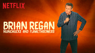Netflix Box Art for Brian Regan: Nunchucks and Flamethrowers